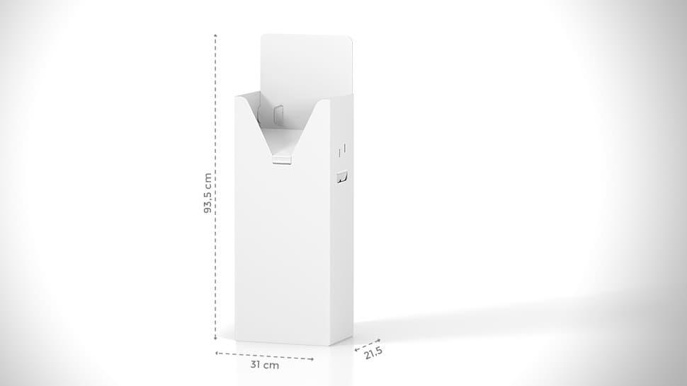Portariviste h93,5 cm con grafica personalizzata | tictac.it