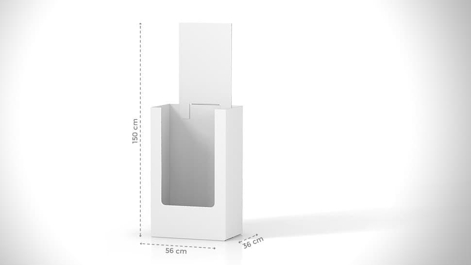 Contenitore espositivo con personalizzabile | tictac.it