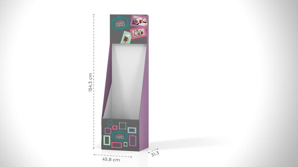 Contenitore in cartone h154,3 cm | tictac.it