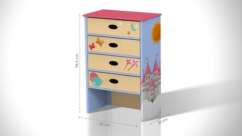 Cassettiera in cartone con grafica personalizzata | tictac.it