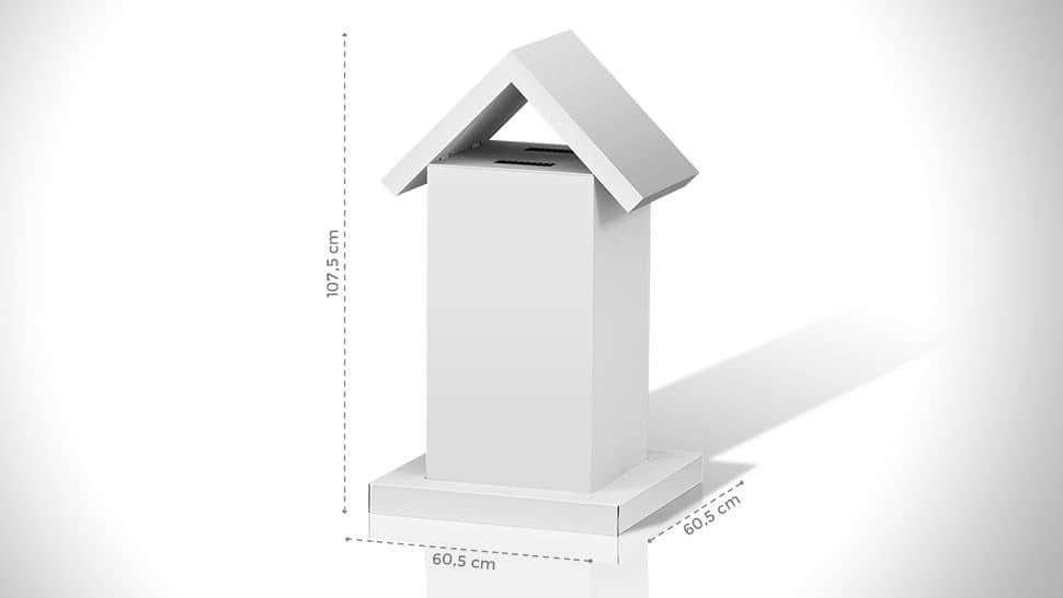 Cassetta a urna da tavolo – grafica personalizzabile | tictac.it