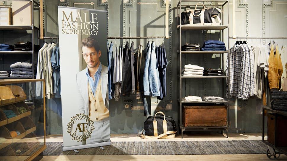 Roll up per negozi d'abbigliamento | tictac.it