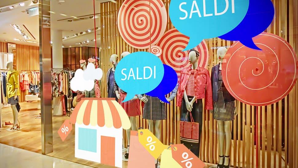 Adesivi saldi per vetrine e negozi | tictac.it