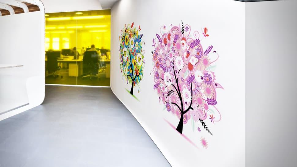 Adesivi tema albero per pareti   tictac.it