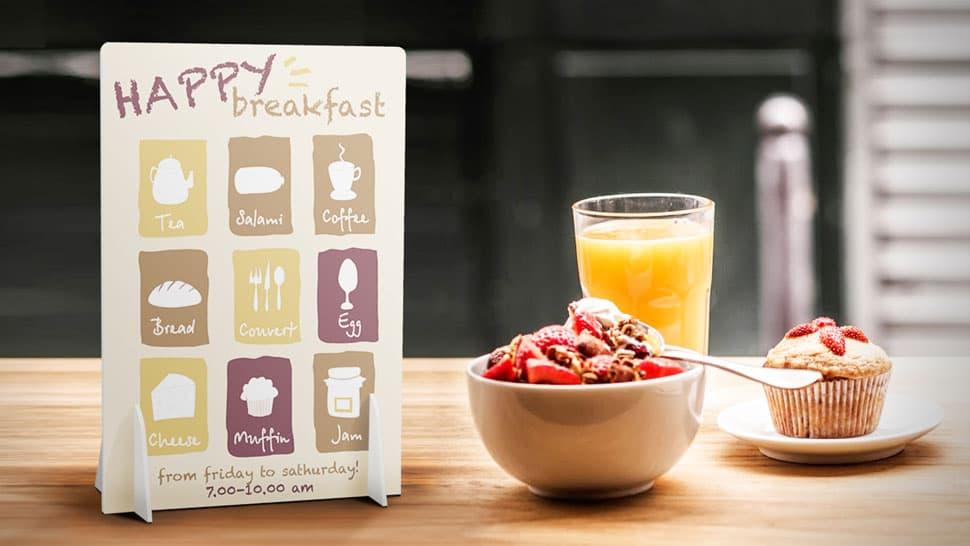 Display da banco tema colazione | tictac.it