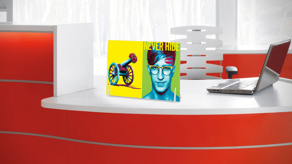 Display da banco a3 grafica personalizzata | tictac.it