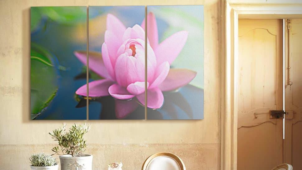 Fotopannello 70x150 cm triplo | tictac.it