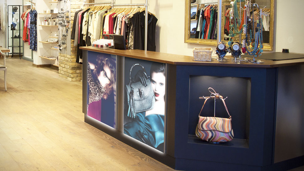 Panello plexiglass per negozi | tictac.it