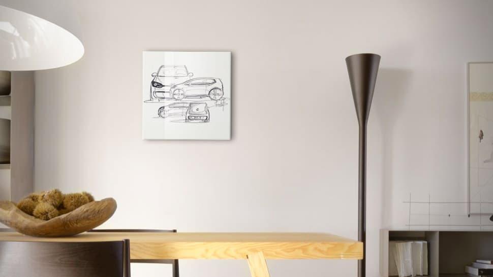 Pannello vetro acrilico 40x40 cm | tictac.it