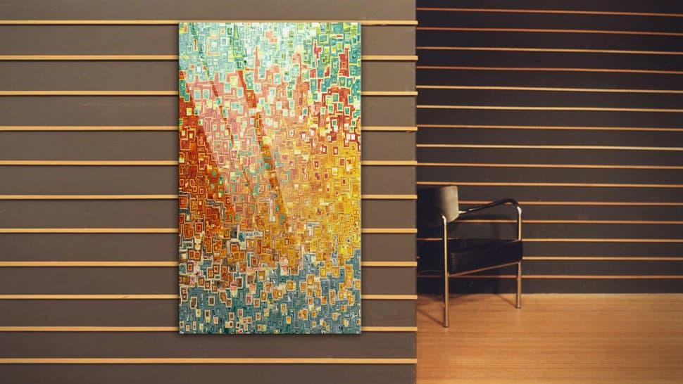 Pannello vetro acrilico 70x120 cm | tictac.it