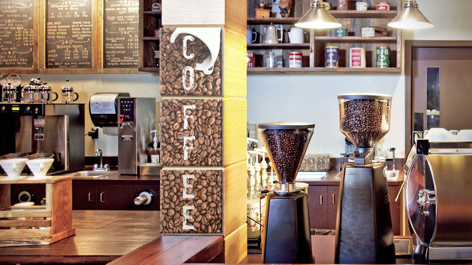 Pannello in laminil grafica caffè | tictac.it