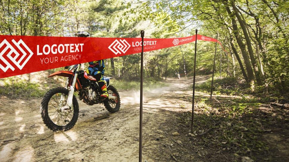 Nastro segnapercorso per gare di rally e motocross | tictac.it