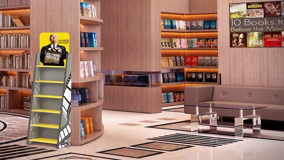 Portaprodotti con 5 ripiani per librerie | tictac.it