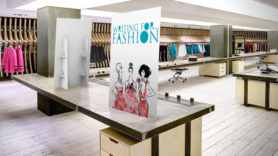 Display da banco per negozio d'abbigliamento | tictac.it