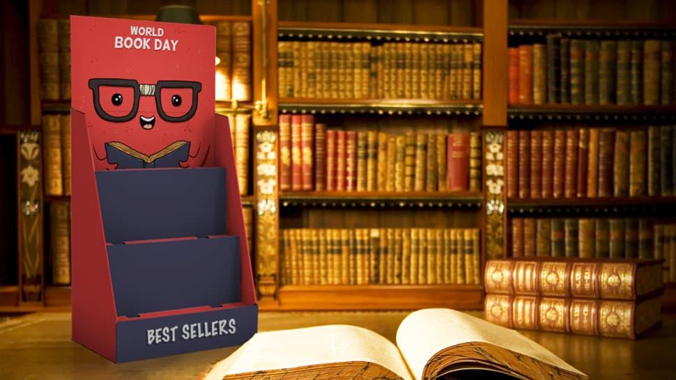 Portaprodotti da banco per biblioteche | tictac.it